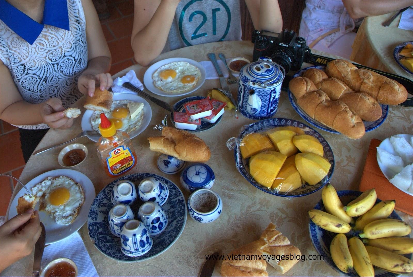 Bữa sáng đơn giản nhưng giàu dinh dưỡng