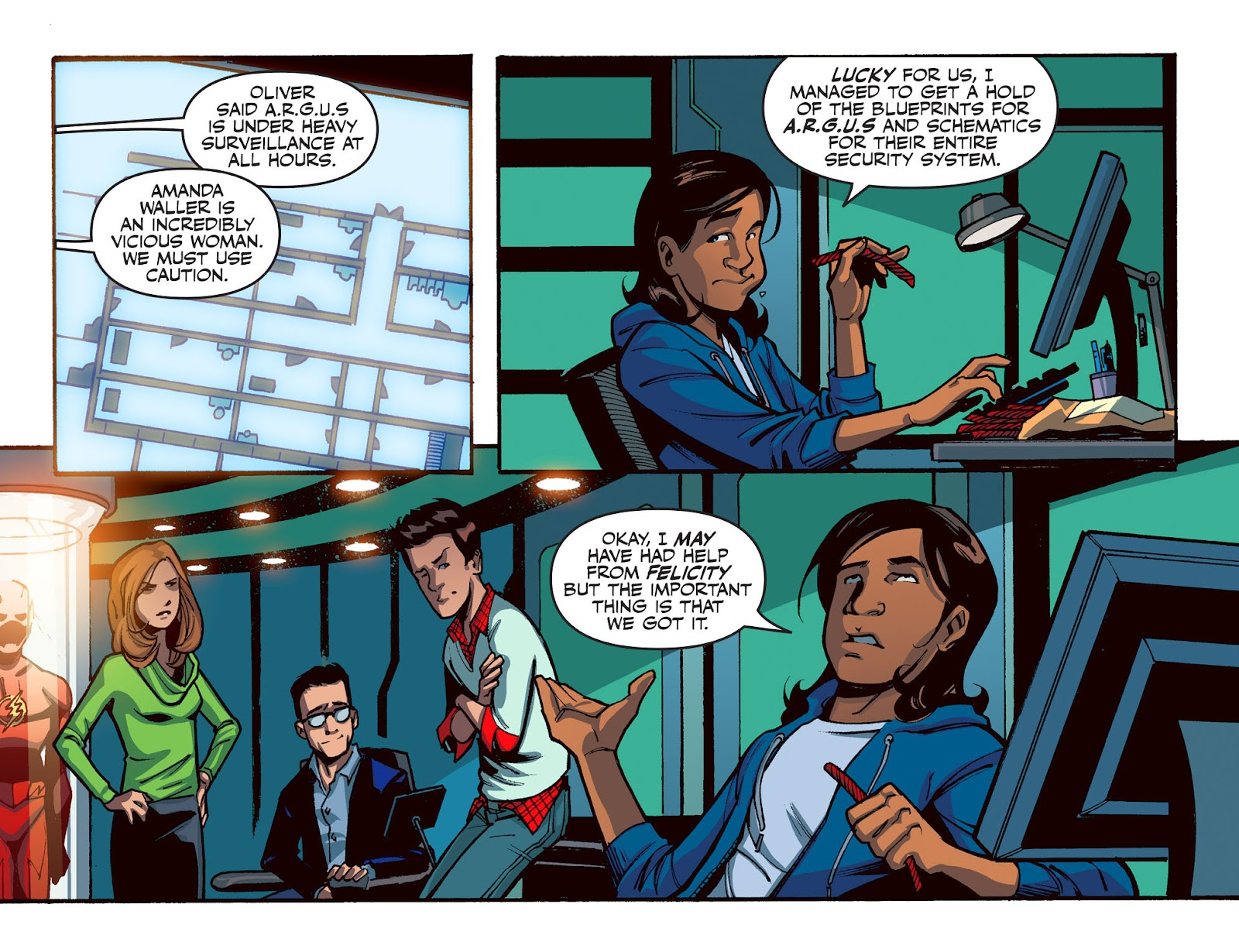 The Flash: Season Zero [I] Issue #16 #16 - English 3