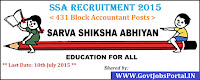 SSA Recruitment 2015