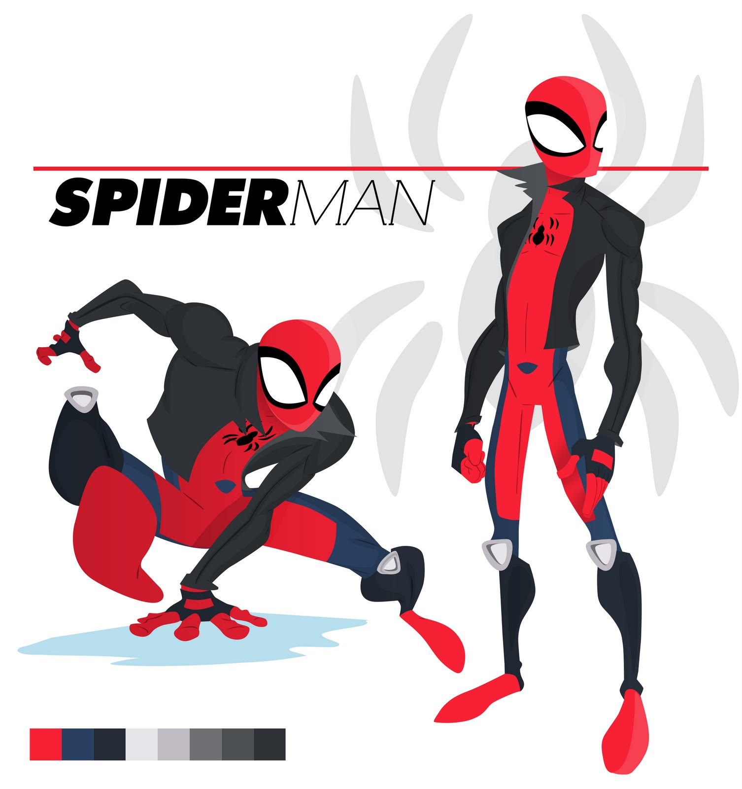 B9 Design: Spiderman Redesign Contest entry
