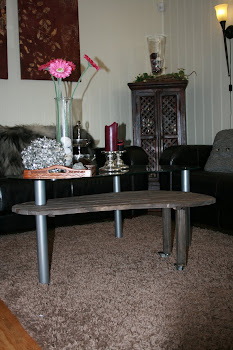 Nytt bord til salongen!
