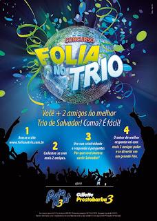 NewStyle assina 'Folia no Trio' com Gillette