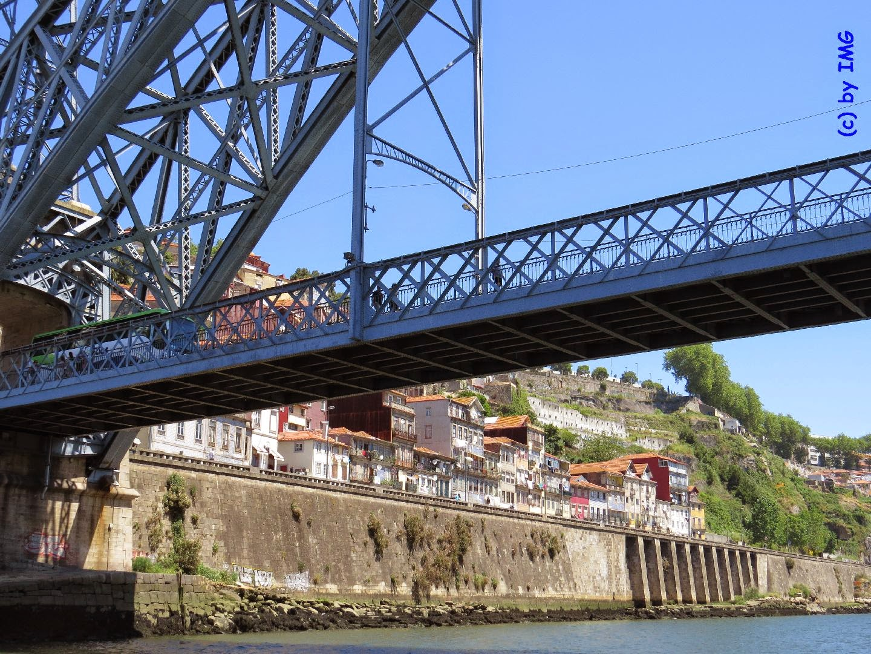 Portugal porto bootsfahrt auf dem douro