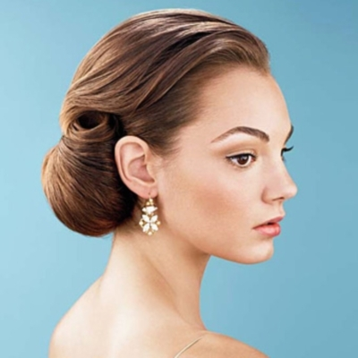 wedding hairstyles modern wedding hairstyles with bun. Black Bedroom Furniture Sets. Home Design Ideas