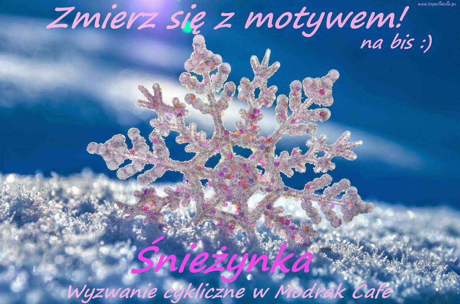 Zmierz się z motywem - śnieżynka :)