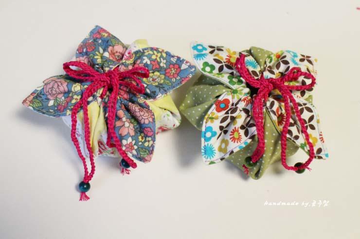 Fabric Gift Pouch Tutorial Сумочка для подарка Diy