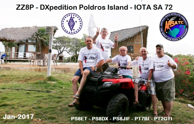 DXpedition Poldros Island - ZZ8P