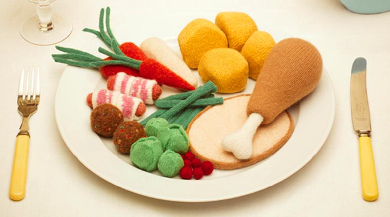 Bajo en calorías, alto en lana: comida hecha de lana te hará agua la boca