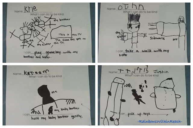 photo of: Emotional Intelligence: Written Acts of Kindness in Kindergarten