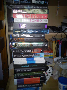 My Toppling To-read Tower