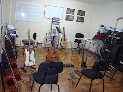Aula de la Escuela de Guitarra (Lugo).