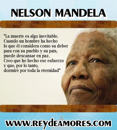 Nelson Mandela Pensamientos
