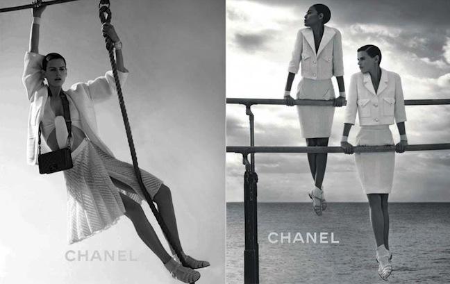 Saskia de Brauw for Chanel, Max Mara and Vogue