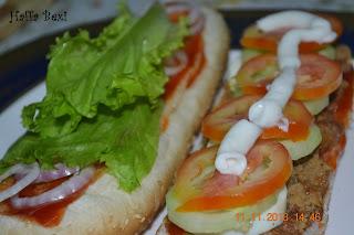 Burger  Shami kabab  Patties  Spicy sandwich  Home made burger Snacks