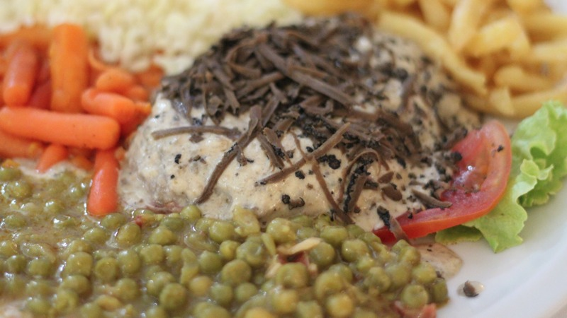 croazia, cibo, food, filetto tartufo