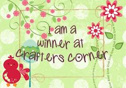 Crafter's Corner Challenge Winner