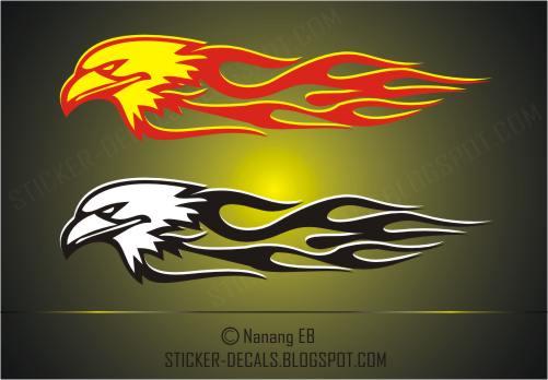 fire eagle car decals sticker decals