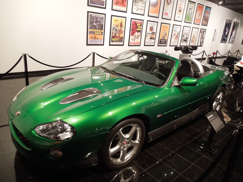 Green 2002 XKR Jaguar Die Another Day
