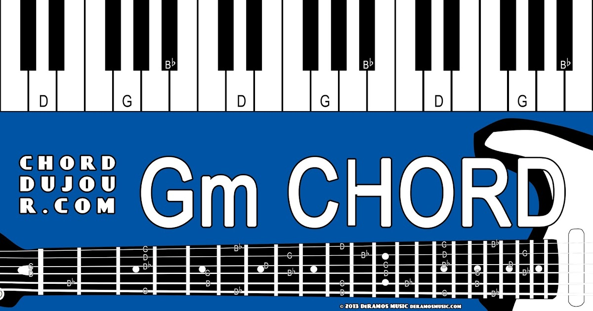Chord Du Jour Dictionary Gm Chord