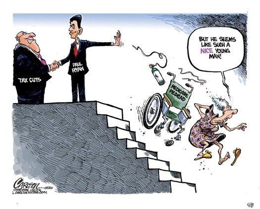 cartoons on paul ryan
