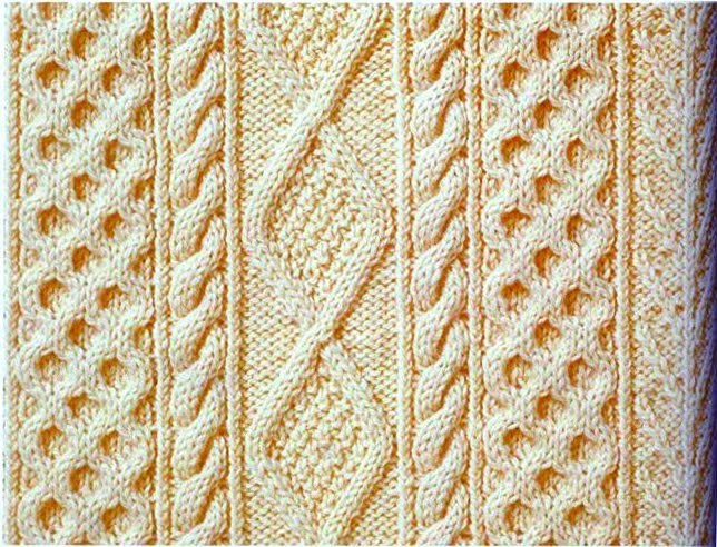 Knitting Pattern Aran Wool : lazyknits