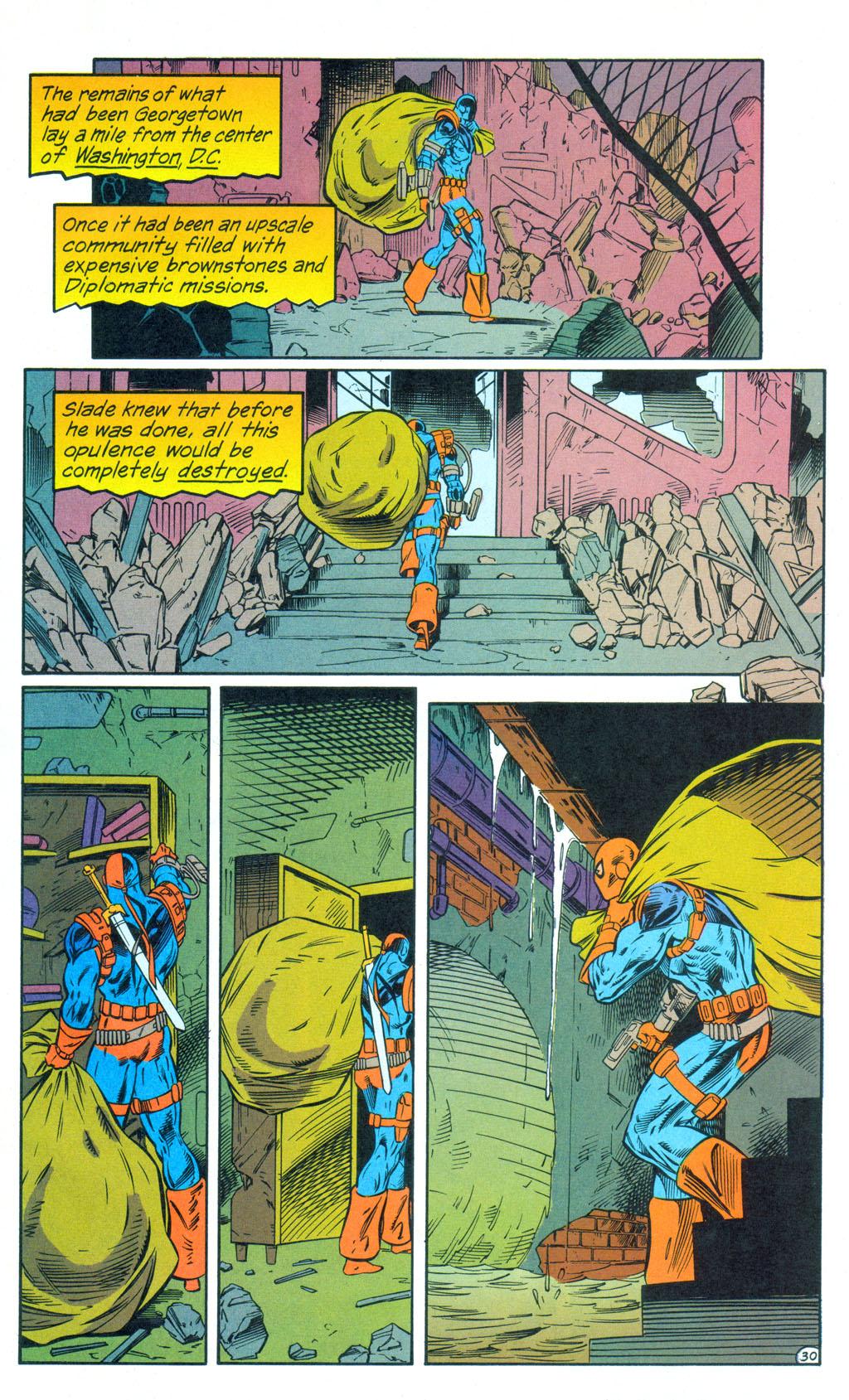 Deathstroke (1991) Annual 3 #3 - English 31
