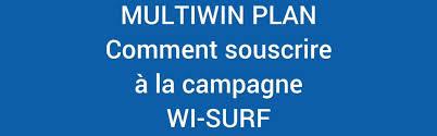 Wi-Surf camapgne jusqu'au 15 janvier 2017