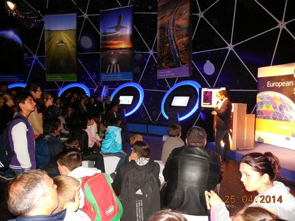 Craiova vazuta din spatiu la European Space Expo