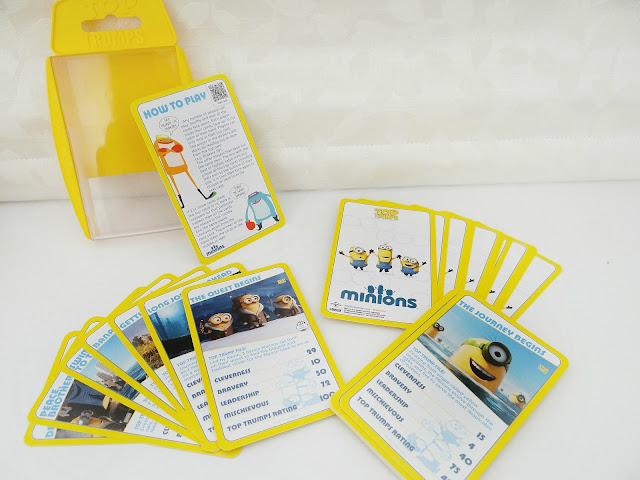The Minions, Top Trumps Card Game, game for travel