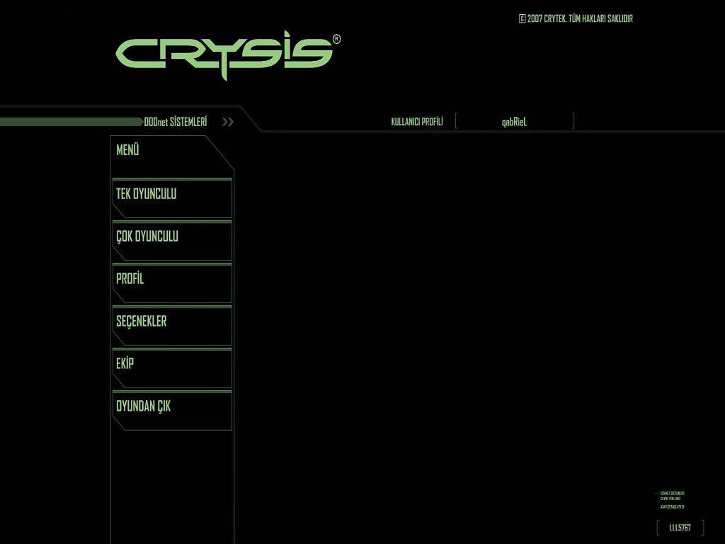 Crysis Türkçe Yama Tek Link Full İndir