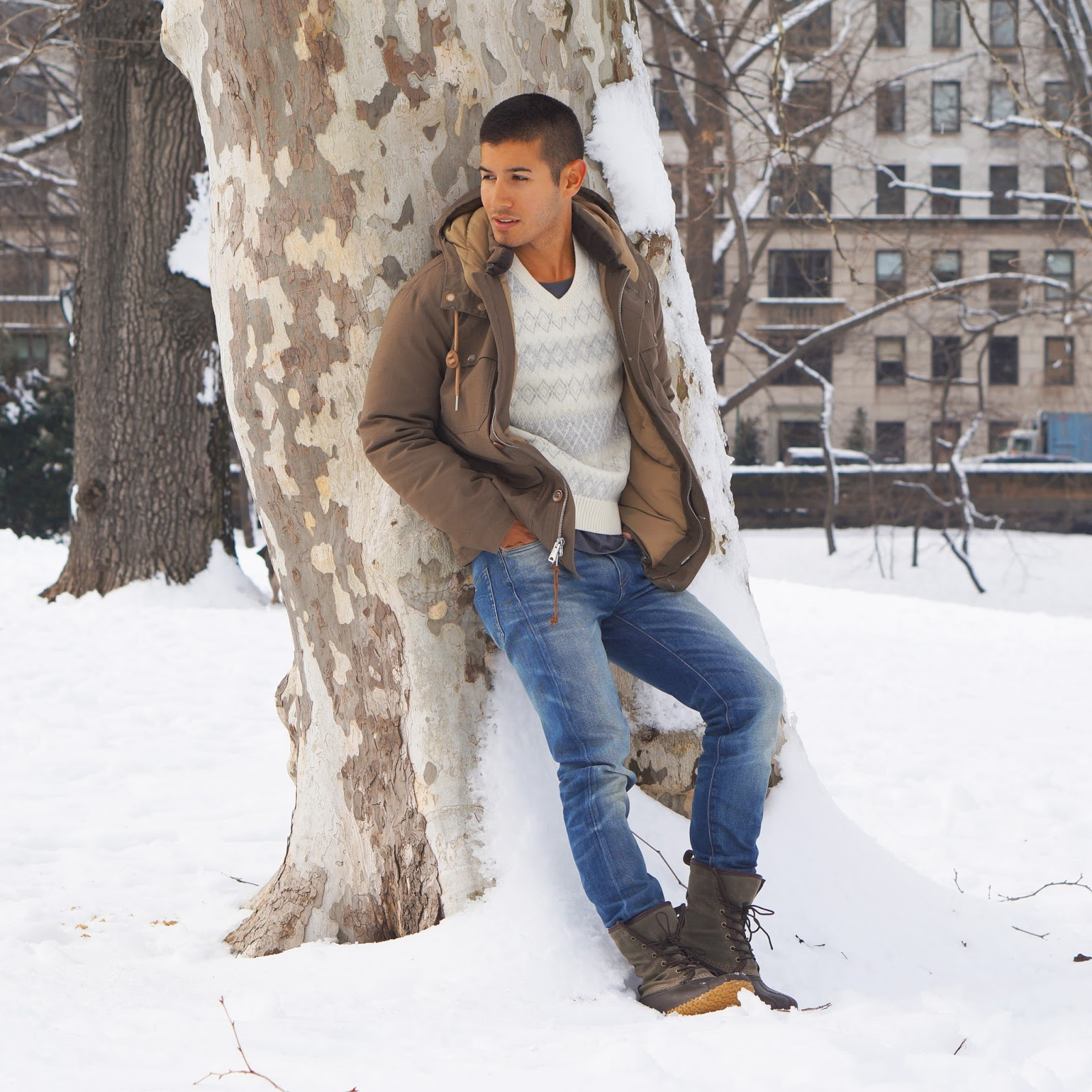Men Wearing Snow Boots Galleryhipcom The Hippest