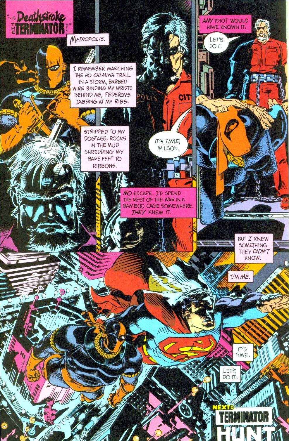 Deathstroke (1991) Issue #12 #17 - English 26