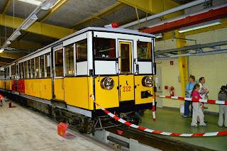 Museum: U-Bahn-Fahren wie anno dunnemals