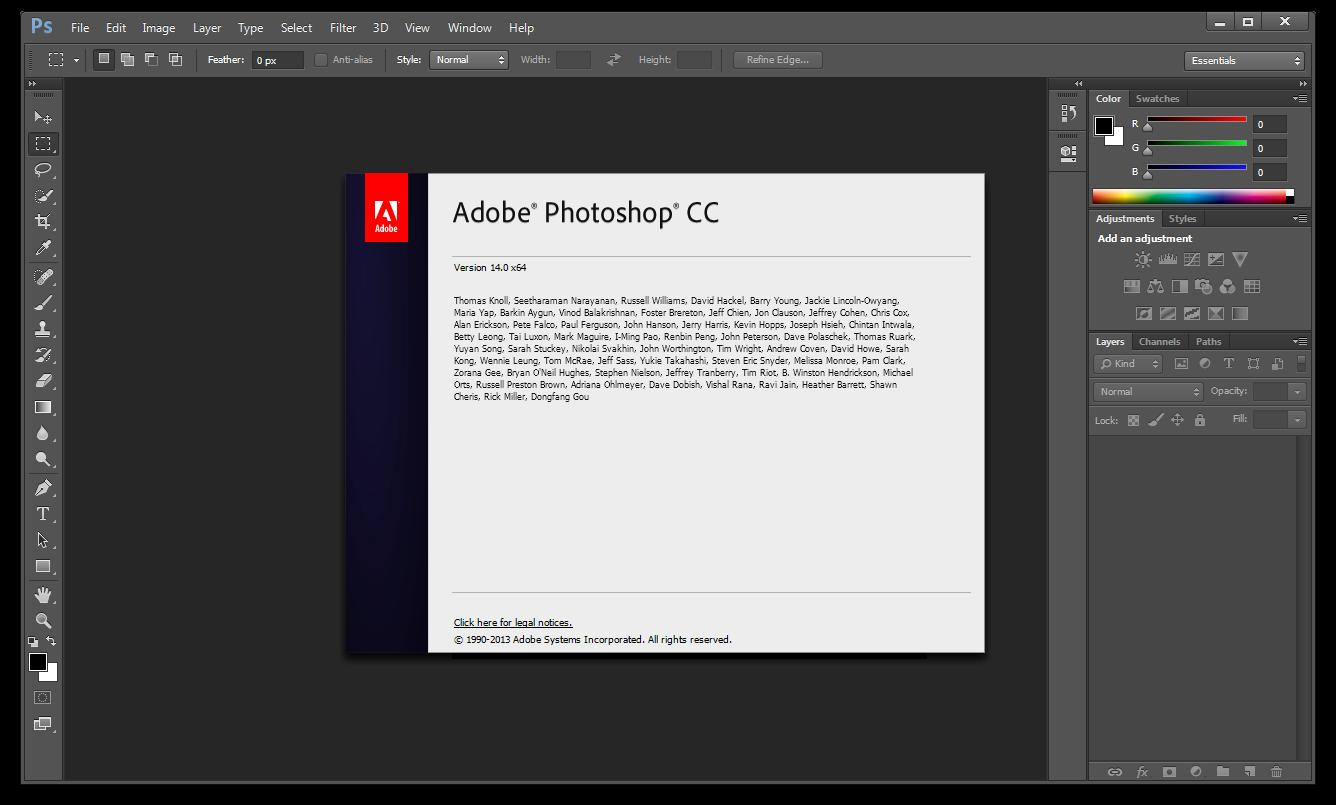 Adobe Photoshop CC 14.1.2 Full With Patch ~ လမင္းတရာ