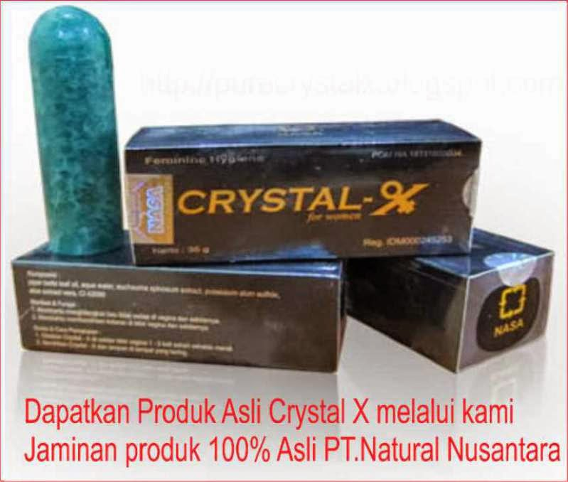 crystal x original kemasan lama