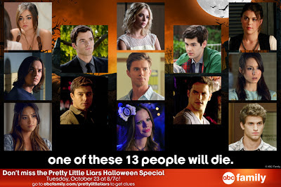 Who is not going to survive The A Train on the Pretty Little Liars Halloween special