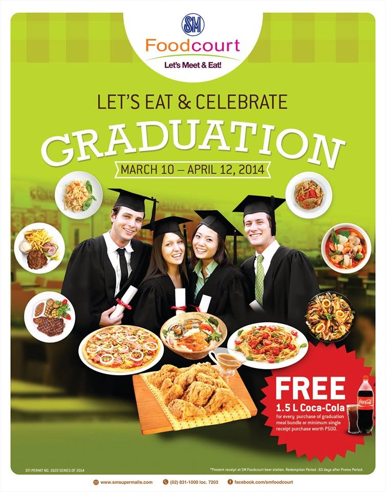 Graduation at SM Foodcourt