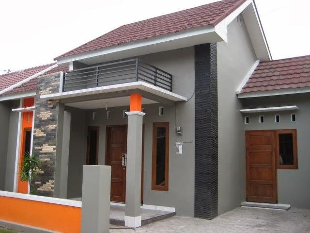 ... abu abu dan merah warna rumah minimalis cat rumah minimalis warna cat