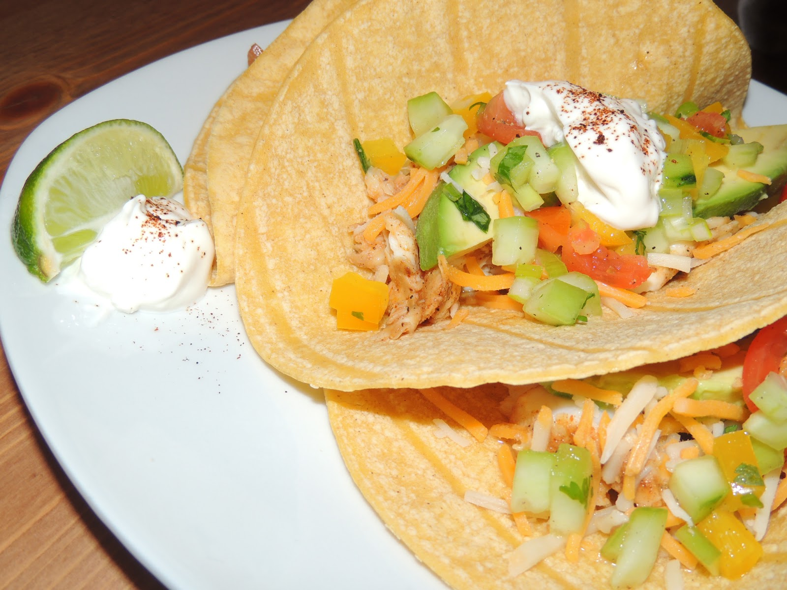 Gas stove girl blackened fish tacos with cucumber salsa for Blackened fish tacos
