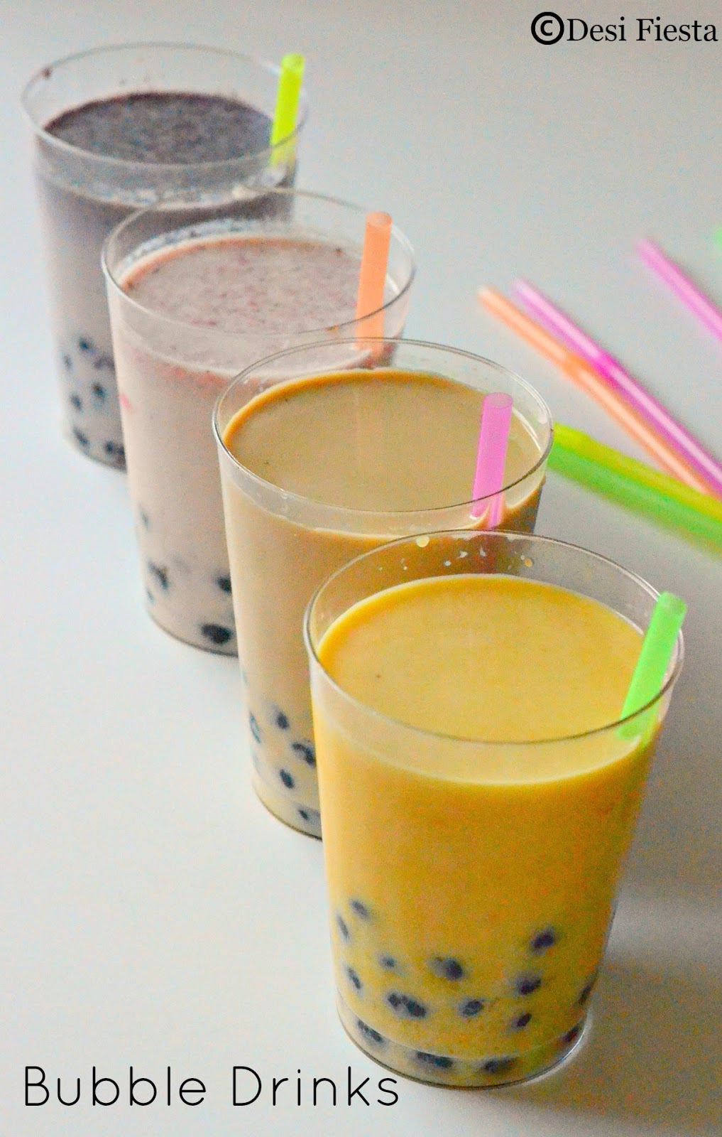 ... Bubble Drinks | Fruit Bubble Tea Recipe |Boba drinks ~ Vietnamese