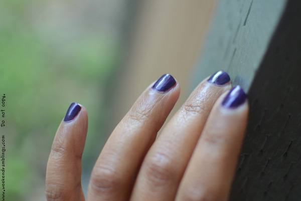 Sephora by OPI Nail Polish Lacquer Colour Just a Little Dangerous SE023 reviews swatches ingredients notd makeup blog