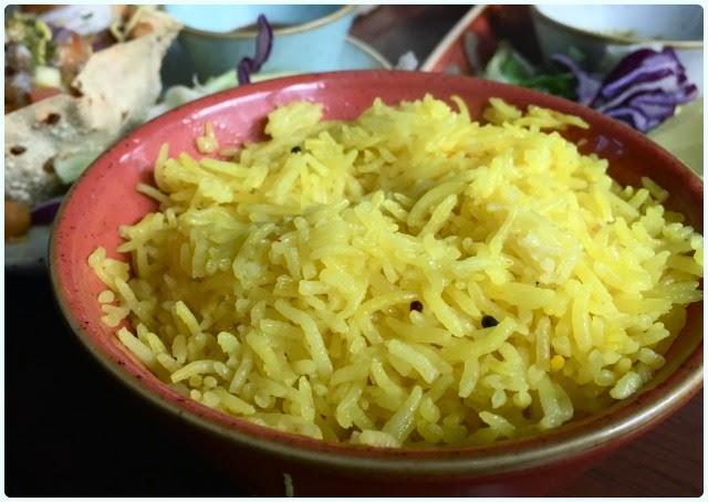 Scene, Manchester - Saffron Lemon Rice