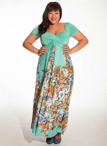 http://www.igigi.com/plus-size-dresses/christina-maxi-dress-in-mint-floral.html