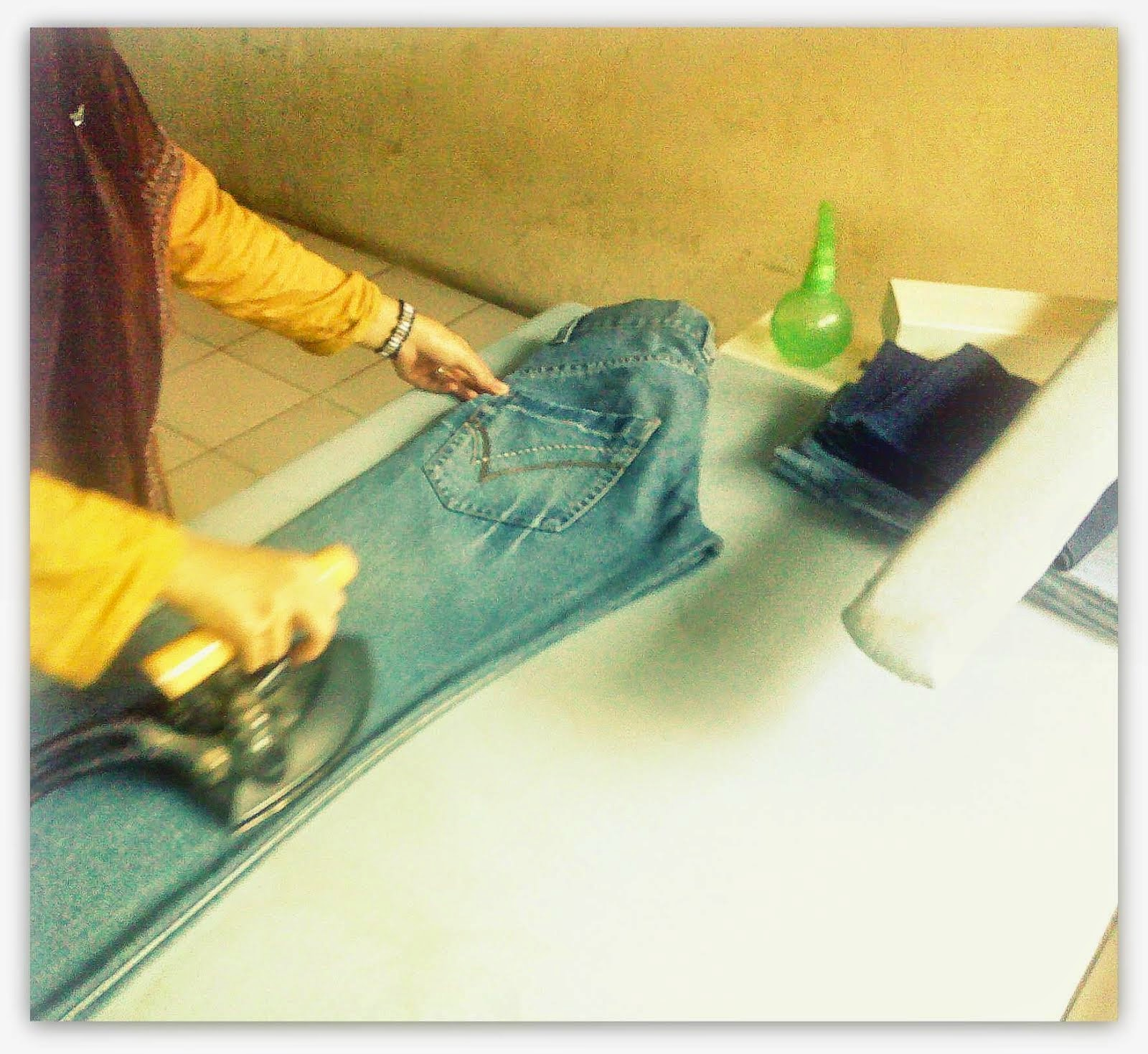 Ironing Process