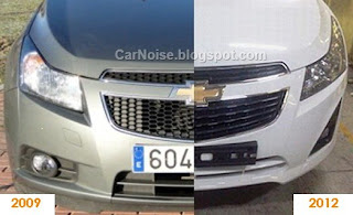 Spy Photo: Chevrolet Cruze Facelift Comparison