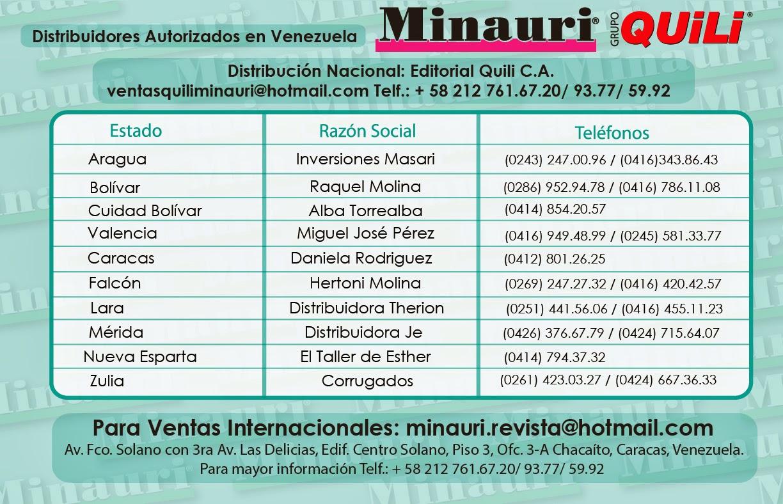 Minauri Quili Revistas Cursos Tienda Nueva