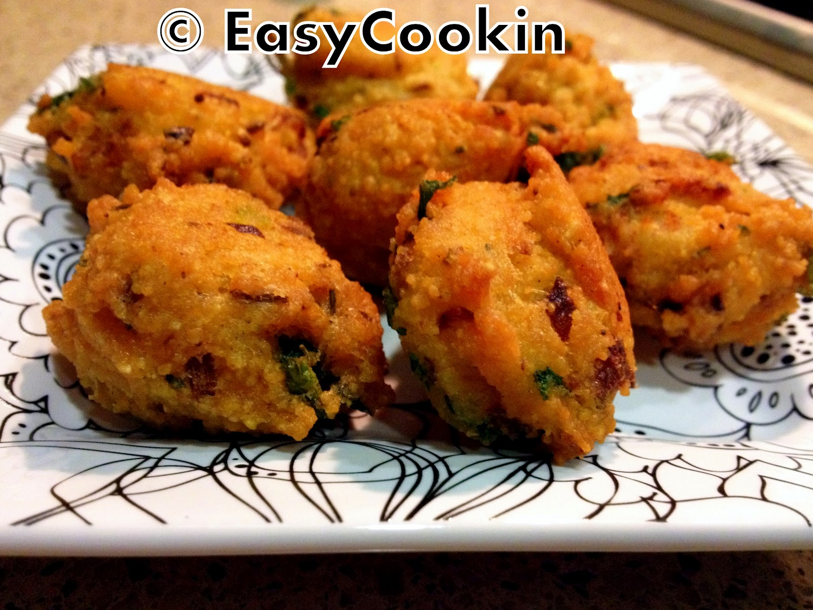 Dal Vada ( Spicy Deep Fried Fritters) V+GF Recipe