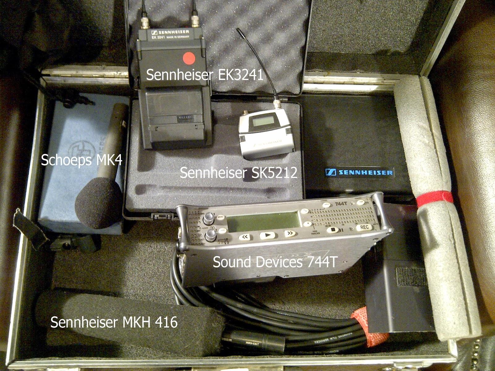 Sound recorder 744T