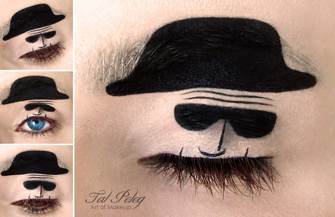 Eye-Makeup Illustrations by Tal Peleg 1