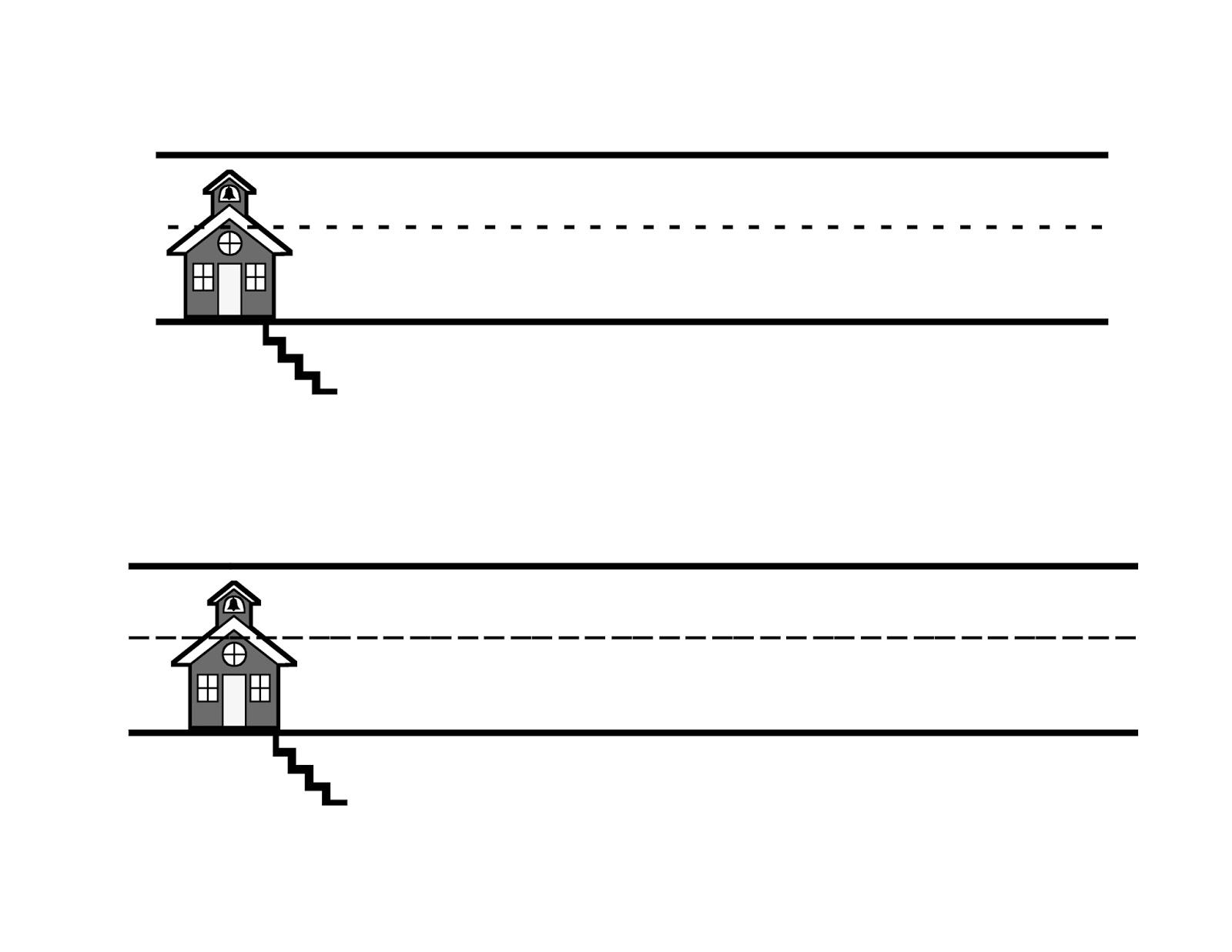 Blank Handwriting Worksheets For Kindergarten – Blank Handwriting Worksheets for Kindergarten